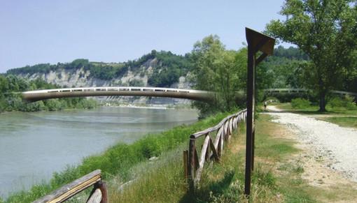 Il terzo ponte in un rendering relativo alle prime fasi progettuali dell'opera