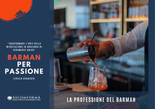 """Iscriviti al corso avanzato """"Barman per passione"""""""