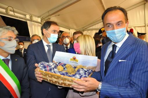 L'inaugurazione della 90ª edizione, lo scorso 9 ottobre, alla presenza del ministro Boccia. Gli eventi in presenza della manifestazione si interromperanno dopo tre fine settimana