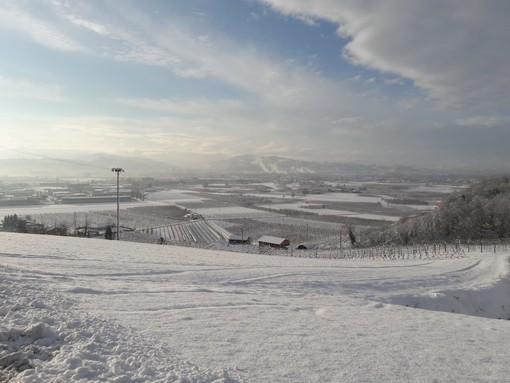 Sulla Granda arriva la neve. Precipitazioni consistenti anche in pianura