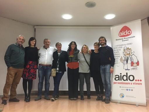 I dirigenti AIDO Gruppo Comunale di Dogliani