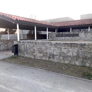 L'ingresso dell'ex Tribunale di Alba