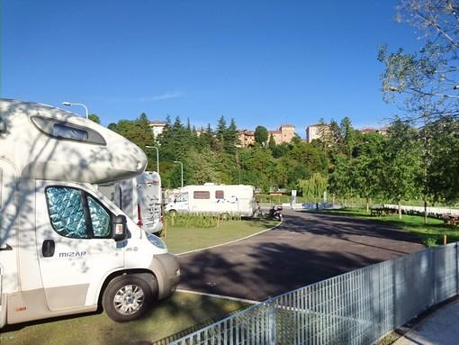 Cuneo riceve la Bandiera Gialla dell'associazione campeggiatori turistici d'Italia