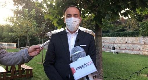 """Il governatore Cirio a Villanova Mondovì: """"10 milioni di euro per aziende e privati"""" (VIDEO)"""