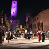 In queste belle immagini di Mauro Gallo alcuni momenti dall'Investitura del Podestà e dalla rappresentazione storica andata in scena ieri sera in piazza Duomo