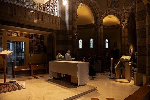 La cerimonia tenuta ieri al santuario della Moretta (Ph. Barbara Guazzone)
