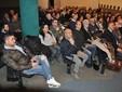 Il pubblico intervenuto alla serata