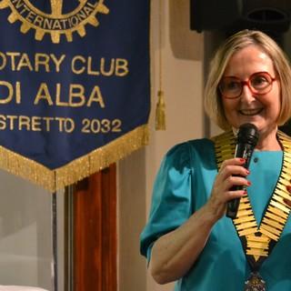 La neo presidente del Club Paola Ferrero (foto Lucia Ernè)