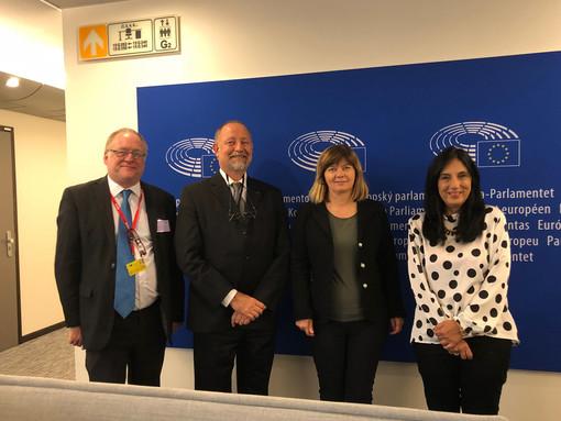 Gli incontri con gli eurodeputati
