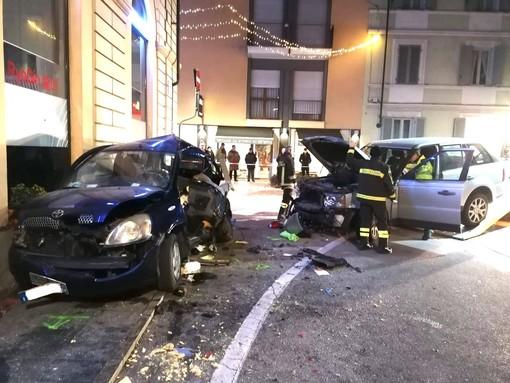 La terribile scena dell'incidente dello scorso 3 gennaio