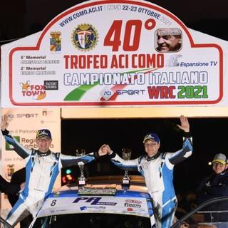 Alessandro Gino trionfa nel Trofeo Michelin/Logistica Uno Rally Cup