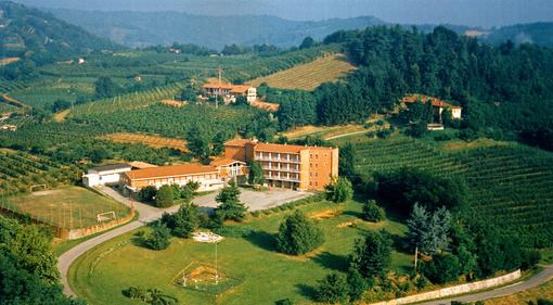 La collina che ospita l'Istituto agrario e dove dovrà sorgere il nuovo Itis