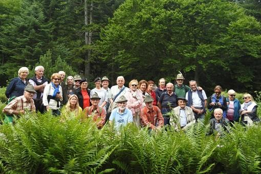 Chasseurs Alpins di Barcellonette a Terme di Valdieri per far visita agli Alpini cuneesi