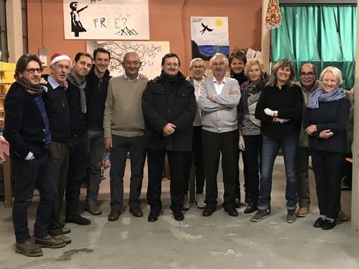 Saluzzo, Cena in amicizia Rotary con tanti ospiti