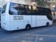 Arrivati da Mondovì i bus della Croce Rossa per portar via da Alassio gli ospiti piemontesi (VIDEO)