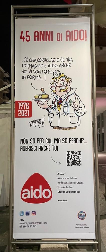 """Bra: A Cheese AIDO lancia il """"qrcode del dono"""""""