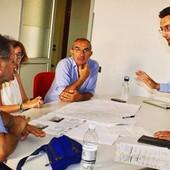 Luglio 2019: l'allora vicesindaco Bolla incontra i comitati