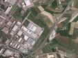 L'area vista dal satellite