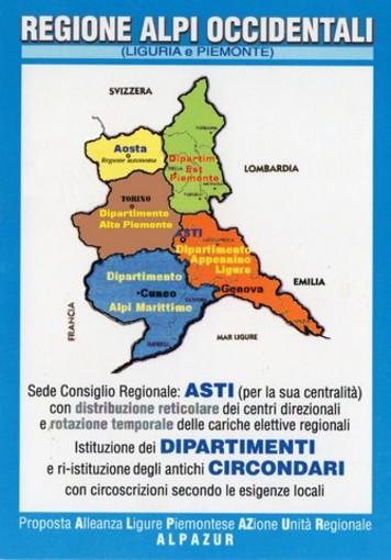 Regione unica Alpi Occidentali con Genova ago della bilancia, le considerazioni di un nostro lettore