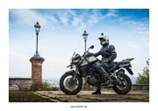 L'Europa in moto partendo da Cuneo: inizia oggi l'avventura di Adnan Ado Maglajlic