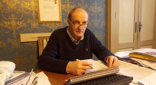 Il sindaco di Savigliano, Giulio Ambroggio