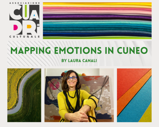 Mapping Emotions Cuneo: vuoi partecipare anche tu a dare vita alle prime 3 mappe emozionali della città?