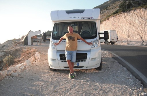 Franko Gjinaj, 35enne originario dell'Albania, viveva a Manta