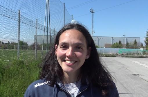 La centrale e capitana della Lpm Bam Mondovì Alessia Midriano