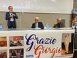 Il saluto del sindaco braidese Gianni Fogliato