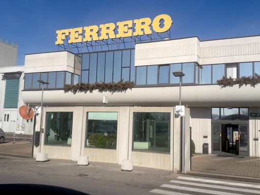Lo stabilimento Ferrero di Alba