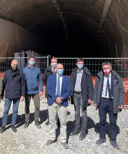Colle Tenda: Lega, grati a viceministro Morelli, lavori tunnel ripartono a inizio estate.