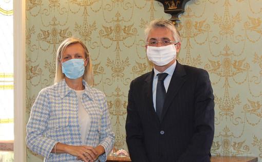 Il sindaco Bo col nuovo vice Carlotta Boffa