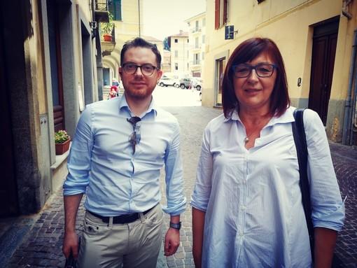 Francesco Racca e Marina Panero, tra i promotori del comitato
