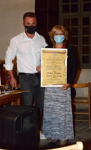 La scrittrice albese Franca Benedusi è stata nominata 'Cavaliera delle Langhe Ad Honorem'