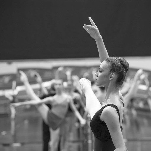 La giovanissima ballerina montatese Benedetta Toppino
