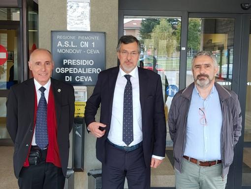 """""""Il pronto soccorso di Ceva non si tocca"""": l'assessore regionale Icardi in visita al nosocomio (VIDEO)"""