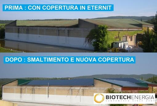 Vuoi rimuovere l'amianto dal tuo tetto senza spese? Con Biotech Energia è possibile!