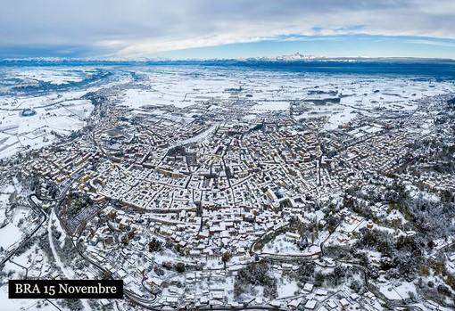 In questa stupenda foto di Tino Gerbaldo Bra come si è risvegliata oggi, 15 novembre