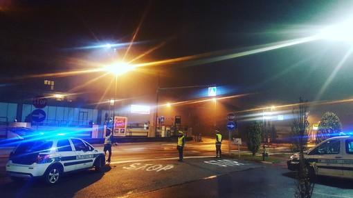 Municipale in campo a Bra, nelle serate del weekend 60 i conducenti sottoposti ad alcol test