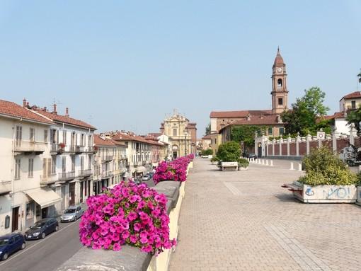 Il centro storico della città di Bra
