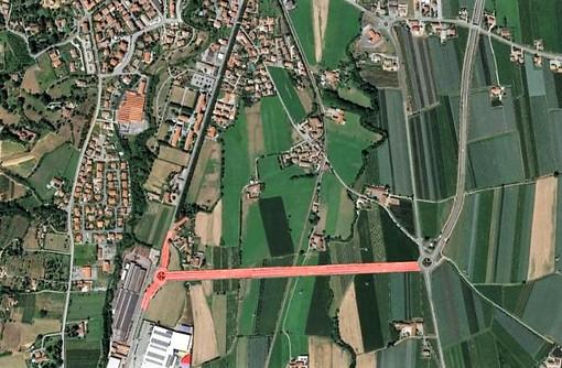 Il progetto della Provincia per la realizzazione della bretella di collegamento tra via Cuneo e via Villafalletto