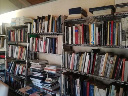 Sezione della Biblioteca della Fondazione CRSaluzzo