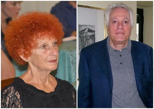 Angela Boetti e Giancarlo Battaglio