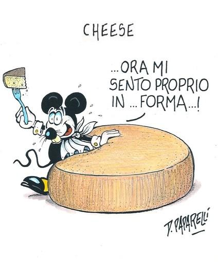 A Bra parte Cheese: la vignetta di Danilo Paparelli