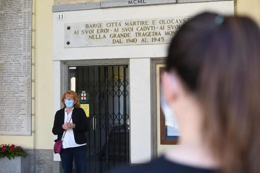 Il sindaco di Barge Piera Comba e la protesta contro la sospensione delle lezioni scolastiche in presenza