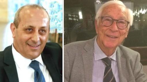 Da sinistra Dino L'Abbate e Lorenzo Bastino