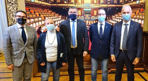 I senatori Bergesio, Vallardi, Sbrana, Zuliani e Rufa