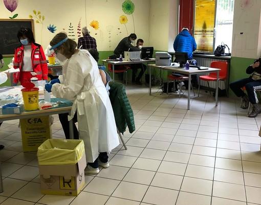 """Le vaccinazioni """"over 70"""" a Bagnolo Piemonte"""