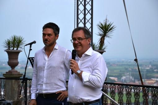 Il sindaco Marco Gallo, con il nuovo direttore di Artea, Davide de Luca