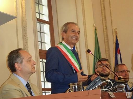 Il sindaco Gianni Fogliato (foto d'archivio)